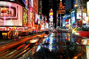 Times Square, increible escaparate de marcas